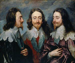 Karl I. (1600-49), Anthony van Dyck.