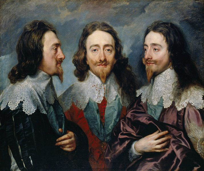 Karl I. (1600-49), Anthony van Dyck. von Meesterlijcke Meesters