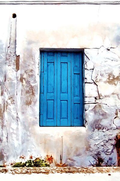 CRETAN DOOR No2 van Pia Schneider