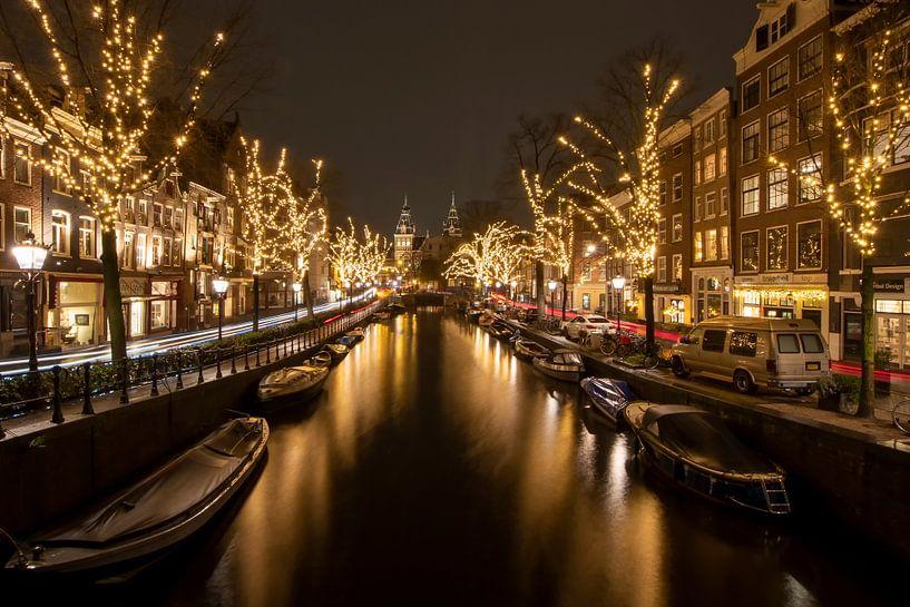 Spiegelgracht Amsterdam van Foto Amsterdam/ Peter Bartelings
