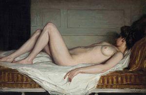 Reclining Nude van David Potter