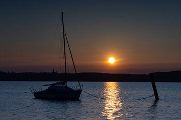 Coucher de soleil à l'Ammersee