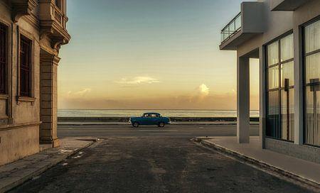 Havana, Cuba at sea