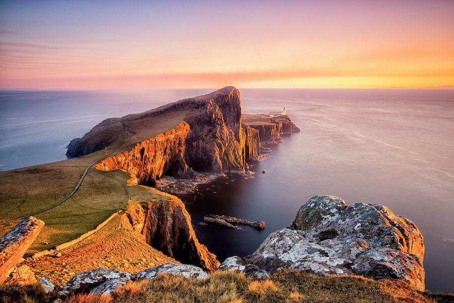 Neist Punkt - Ilse von Skye - Schottland von Remco Siero
