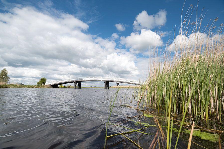 Brug over de Groote of Achterwaterschap van Beeldbank Alblasserwaard
