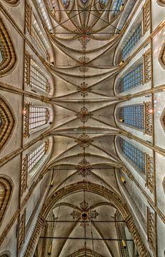plafond de la grande église de Dordrecht sur Bert Bouwmeester