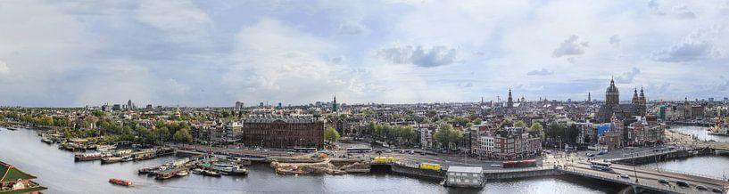 skyline amsterdam centrum van Jiske Wijmans @Artistieke Fotografie