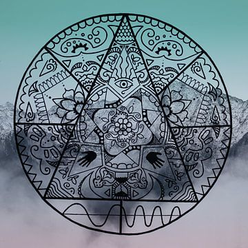 Mandala Mystery von Claudia Maglio