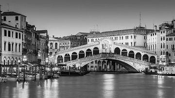 Rialtobrücke in Venedig von Henk Meijer Photography
