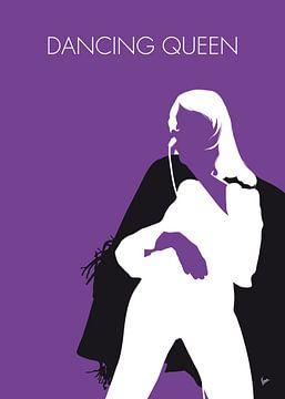 No241 MY ABBA Minimal Music poster von