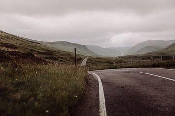 Die einsame Straße nach Balator von Rebecca Gruppen
