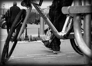 Man met de fiets van Lysanne Artcrafx