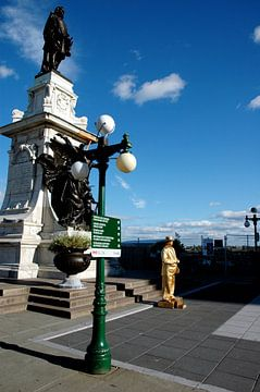 Levend Standbeeld, Quebec van Marcel Admiraal
