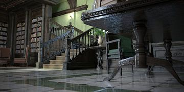 chambre avec escalier_HMS sur H.m. Soetens