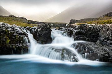 IJsland - Skutafoss sur Henk Verheyen
