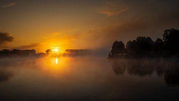 Lever du soleil Bussloo sur Rob Sprenger
