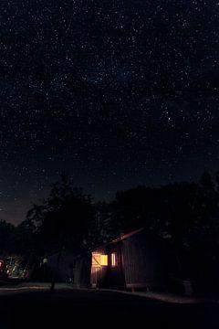 Melkweg in Frankrijk van Rob van der Teen