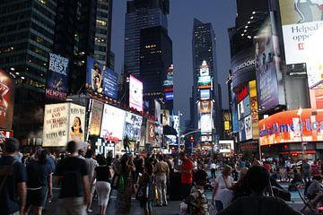 Times Square van Pamela Fritschij