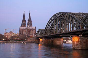 Le Rhin à Cologne, Allemagne sur Alexander Ludwig