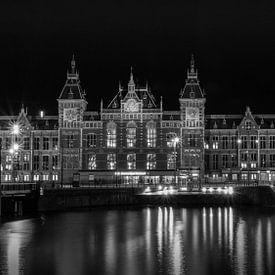 Amsterdam, Central Station sur Marlous en Stefan P.