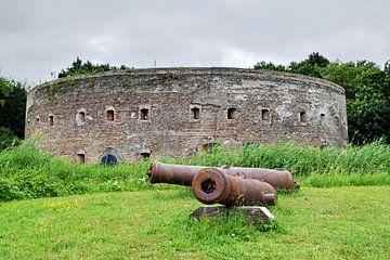 Altes holländisches Fort, das Teil der Nieuwe Hollandse Waterlinie (Neue holländische Wasserlinie) w von Robin Verhoef