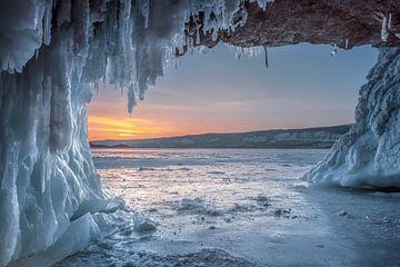 IJsgrot Baikalmeer van Peter Poppe