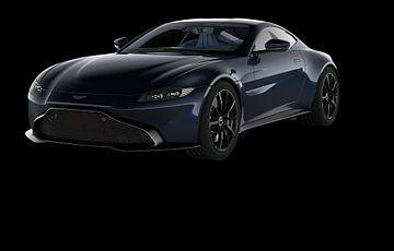 Aston Martin Vantage van Gert Hilbink