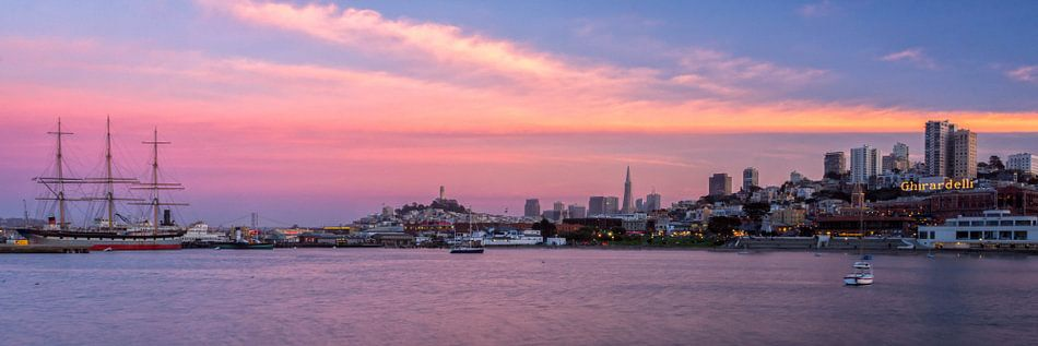 San Francisco zonsondergang