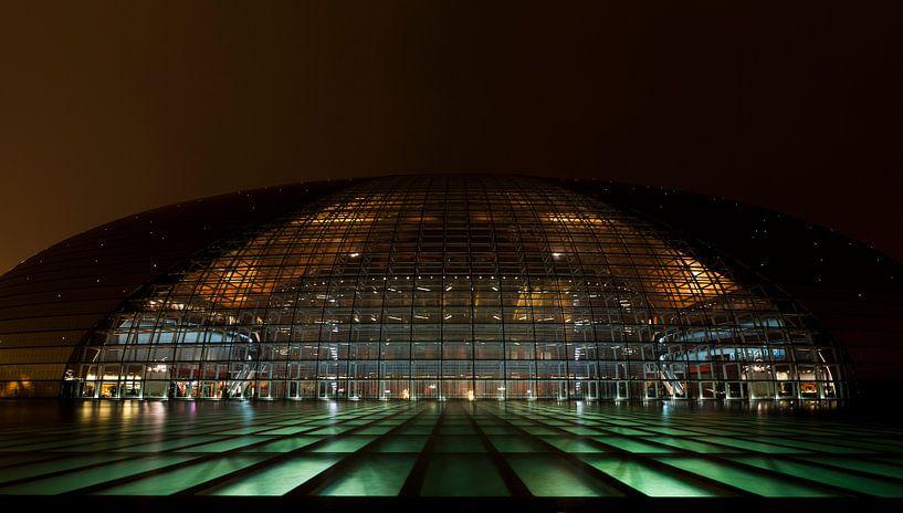 National Theater Beijing, China van Mike van den Brink