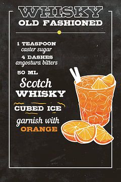Whiskey Old Fashioned Drink van Amango