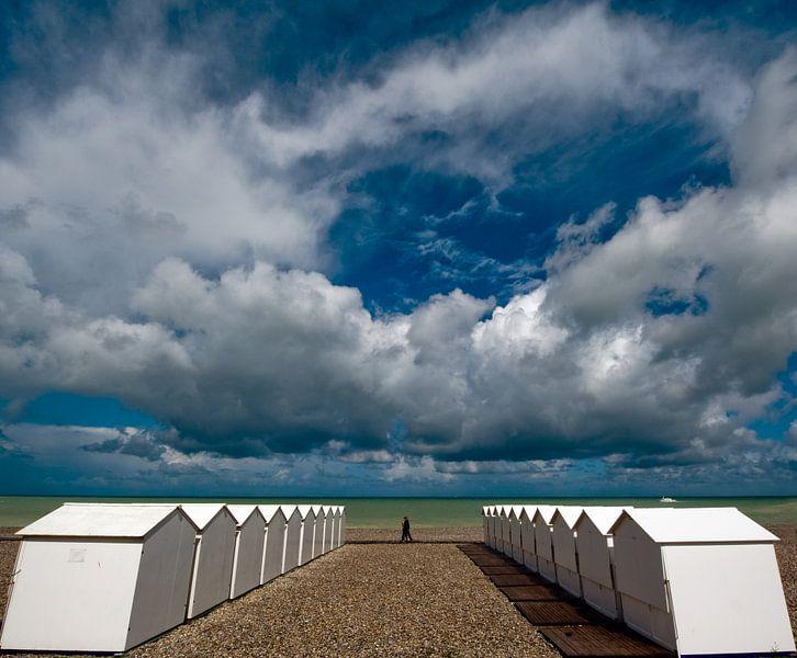 Strandhuisjes van Harrie Muis