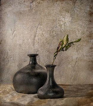Black Vases von Vera Kämpfe