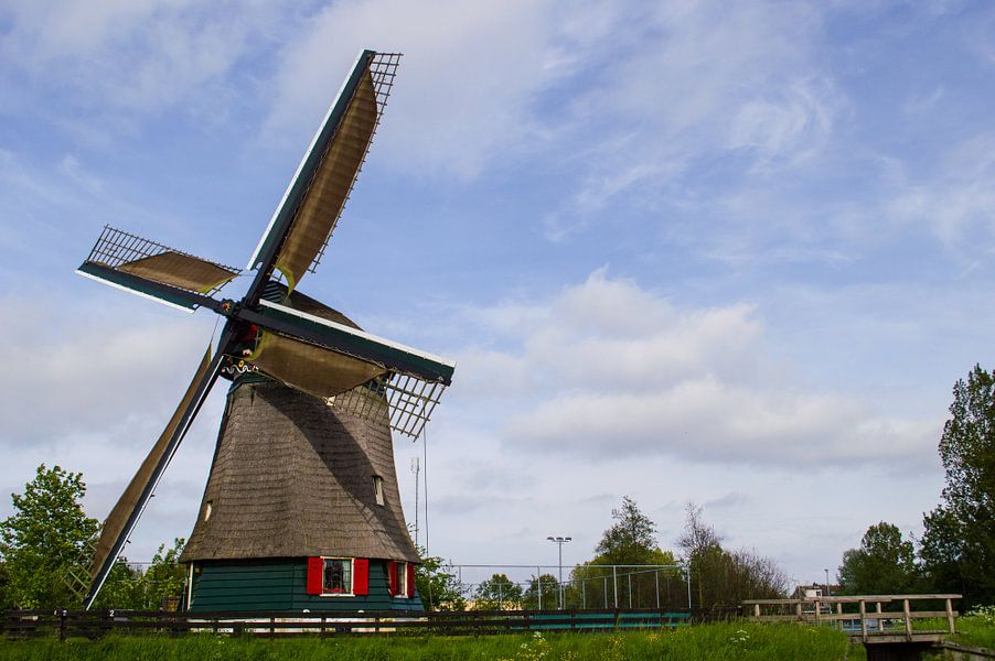 A Dutch windmill