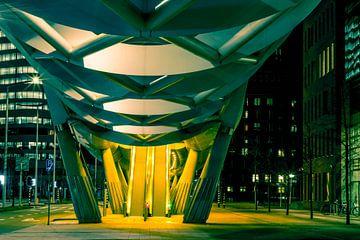 Toegang Lightrail Prinses Beatrixlaan, Den Haag van Colin Klein