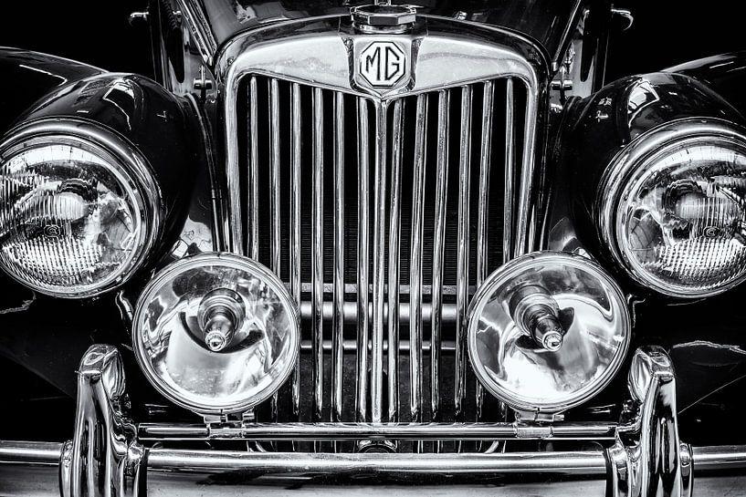 De Vintage MG van Martin Bergsma