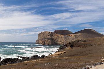 Vulkaan op het eiland Faial, Azoren, Portugal sur Arline Photography