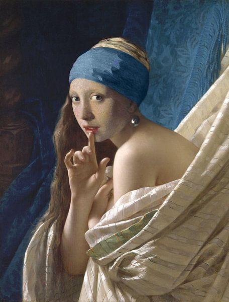 Porträt eines jungen Mädchens von Jerome Coppo