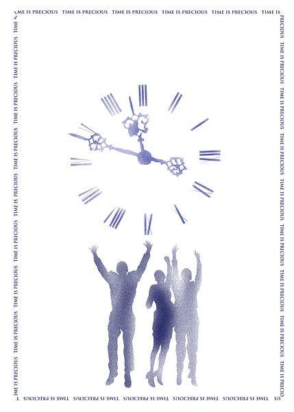 Zeit ist kostbar van Rosi Lorz