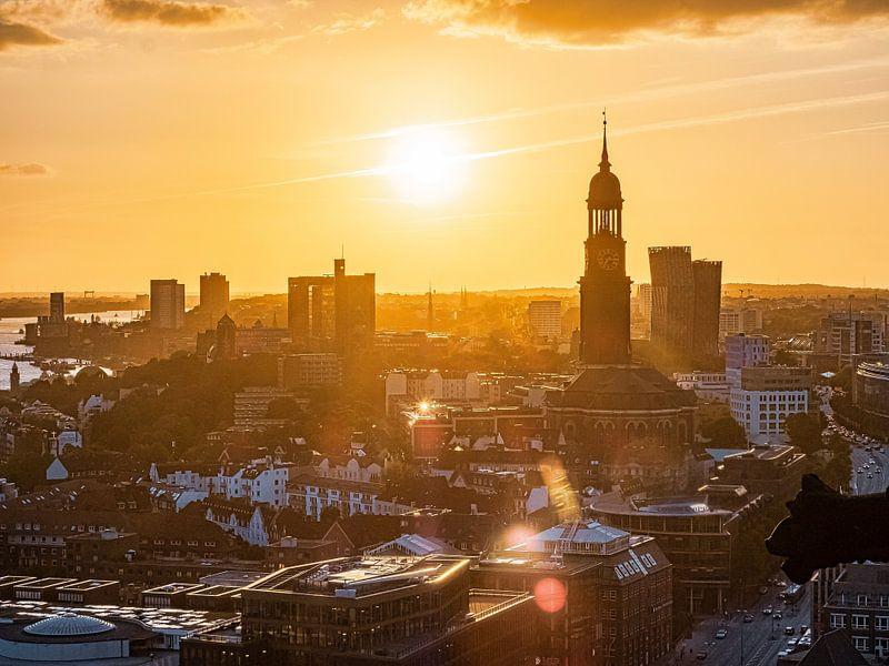 2018-09-13 Hamburg Panorama von Joachim Fischer