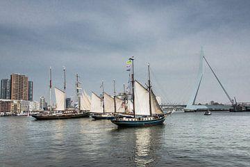 Zeilschepen in Rotterdam van