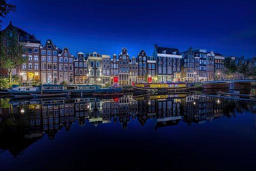 Singel Amsterdam redlight van