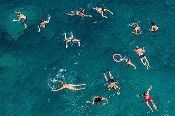 Blaues Wasser schwimmen, Carlo Tonti von 1x