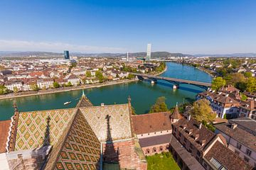 Basel in der Schweiz von Werner Dieterich