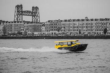 Wassertaxi Nordinsel Rotterdam von Chris van Es