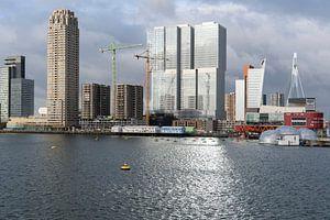 Wilhelminapier aan de Rijnhaven in Rotterdam