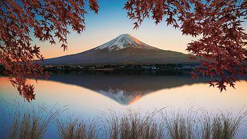 Der Berg Fuji von Manjik Pictures