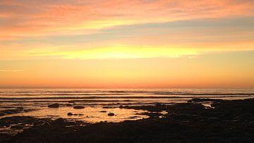 Kanada West Coast Trail Sonnenuntergang van Martina Dormann