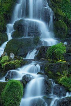 Waterval op Isle of Skye, Schotland van Hans Koster
