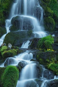 Waterval op Isle of Skye, Schotland von Hans Koster