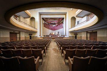 Mushroom Theater in Italië van Ruud van der Aalst